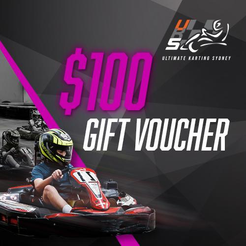 UKS $100 gift voucher