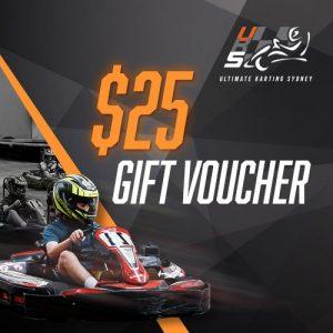 UKS $25 gift voucher